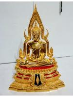 พระพุทธชินราช หน้าตัก 5 นิ้ว กะหลั่ยทอง ฐานสูง