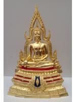พระพุทธชินราช 5นิ้ว โรงงานซุ้มเรือนแก้ว ปิดทองแท้