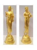 พระสีวลี เนื้อทองเหลือง ปิดทองแท้