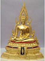 พระพุทธชินราช หน้าตัก 9นิ้ว ฐานเตี้ย ปิดทองแท้