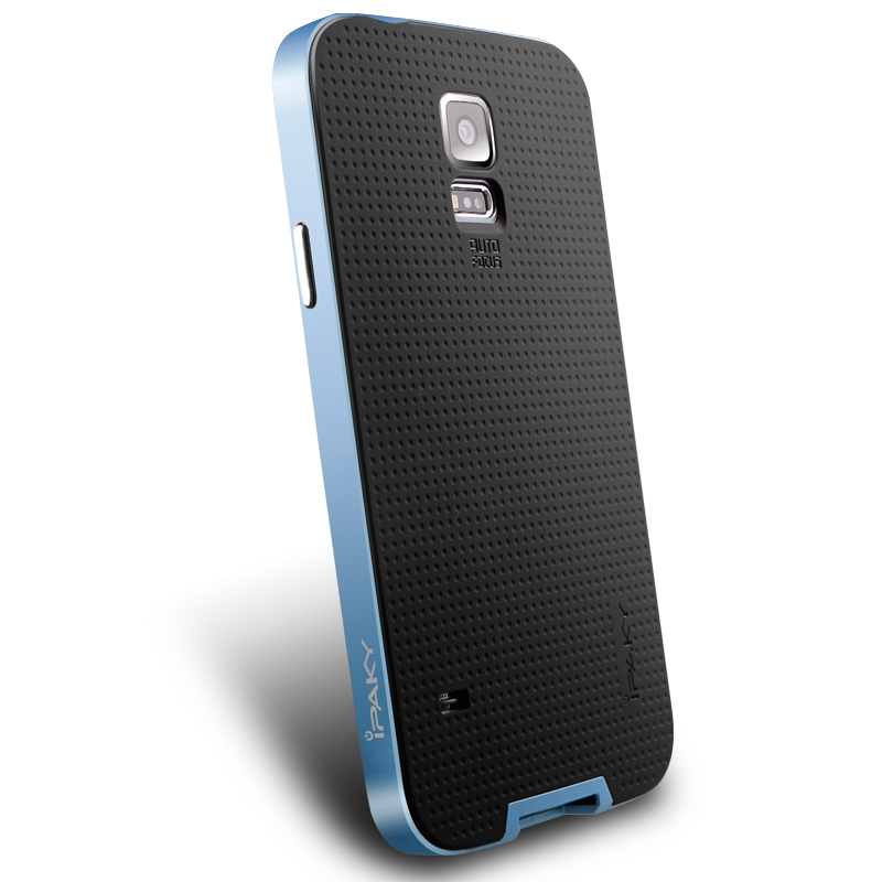 IPAKY Case Samsung Galaxy S 5 (Blue)