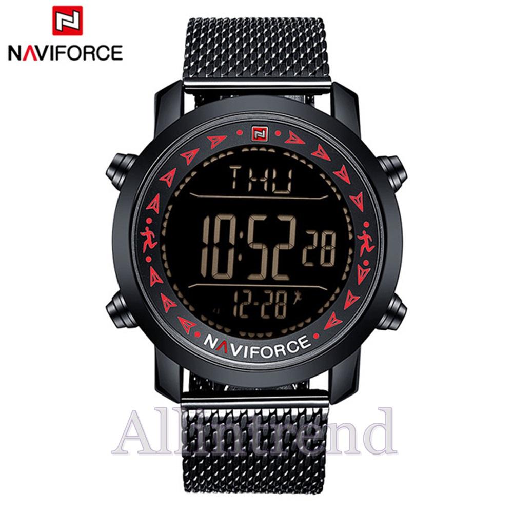 นาฬิกา Naviforce รุ่น NF9130M สีแดง/ดำ ของแท้ รับประกันศูนย์ 1 ปี ส่งพร้อมกล่อง และใบรับประกันศูนย์ ราคาถูกที่สุด