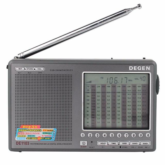 DEGEN DE1103 FM Stereo Radio Receiver