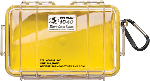 PELICAN™ 1040 MIRCOCASE, YELLOW / CLEAR
