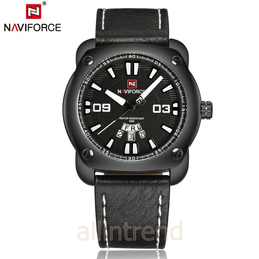 นาฬิกา Naviforce รุ่น NF9096M สีขาว/ดำ ของแท้ รับประกันศูนย์ 1 ปี ส่งพร้อมกล่อง และใบรับประกันศูนย์ ราคาถูกที่สุด