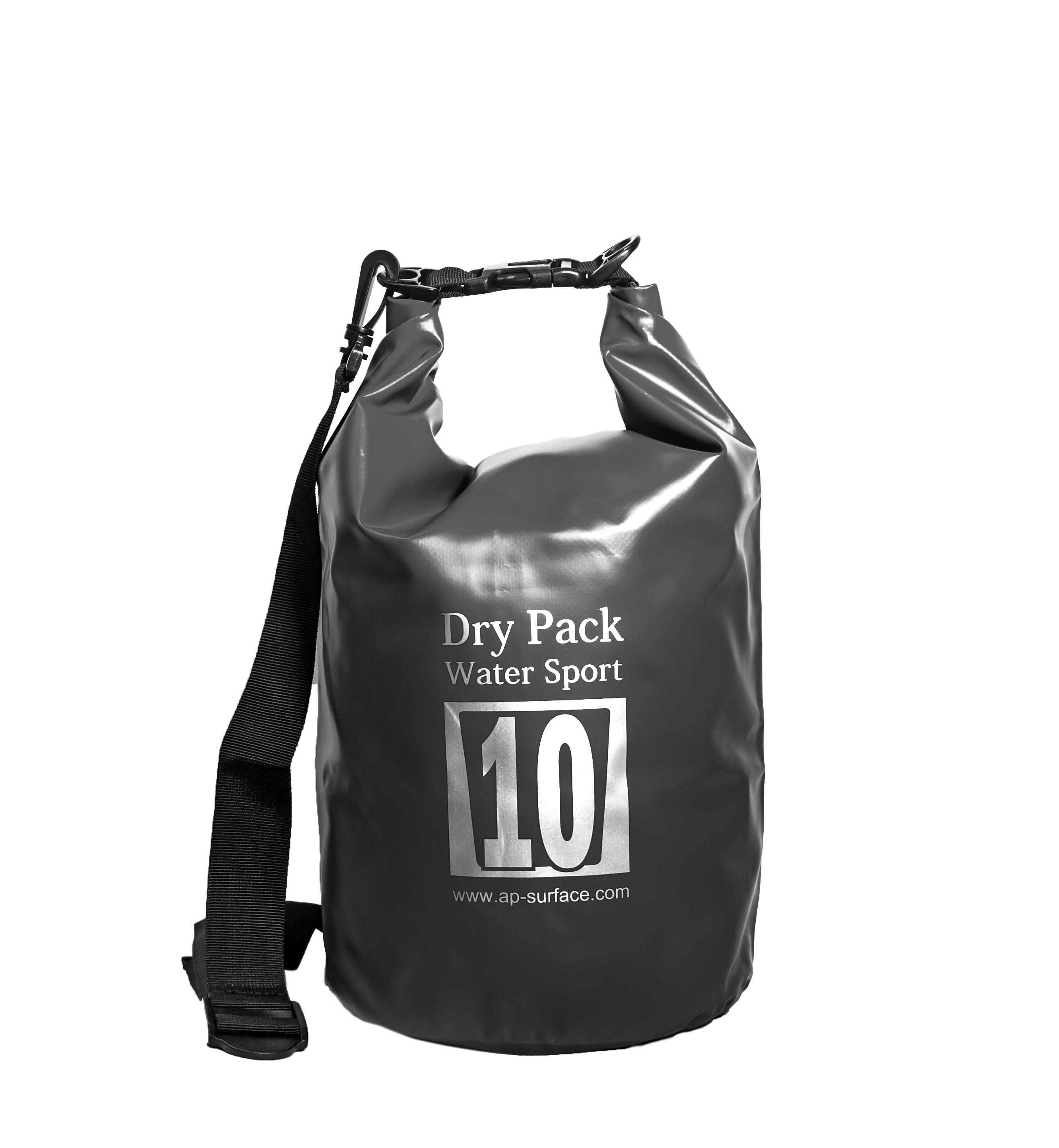 กระเป๋ากันน้ำ Dry pack 10L-สีดำ