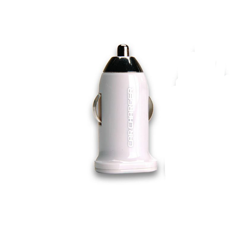Remax Adapter USB CAR Charger Mini 2.1A (White)