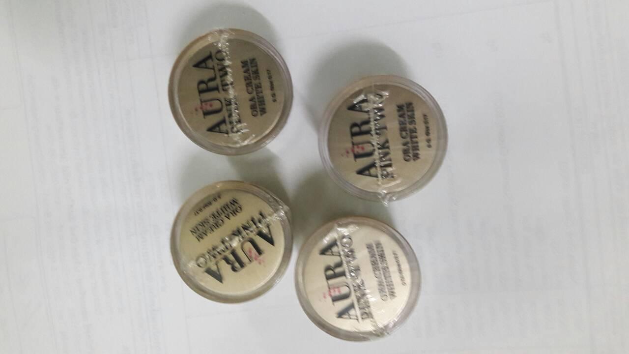 ออร่า ครีม ไวท์ สกิน Miracle Whitening Supreme Cream : MWS2-C จำนวน 1 กระปุก