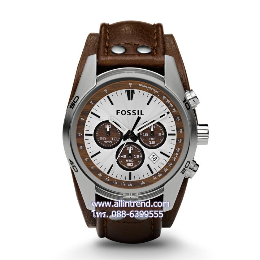 นาฬิกา Fossil รุ่น CH2565 นาฬิกาข้อมือผู้ชาย ของแท้ รับประกันศูนย์ 2 ปี ส่งพร้อมกล่อง และใบรับประกันศูนย์