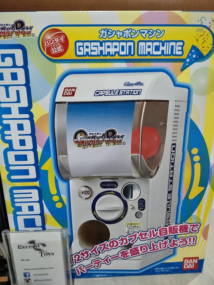 Bandai Official Gashapon Machine
