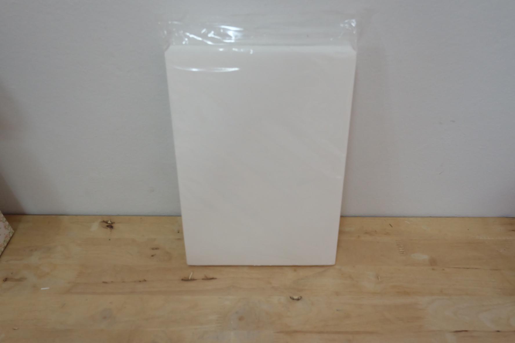 wafer sheet / แผ่นเวเฟอร์ (แบบหนา 0.6mmตั้งทรงได้) 25แผ่น