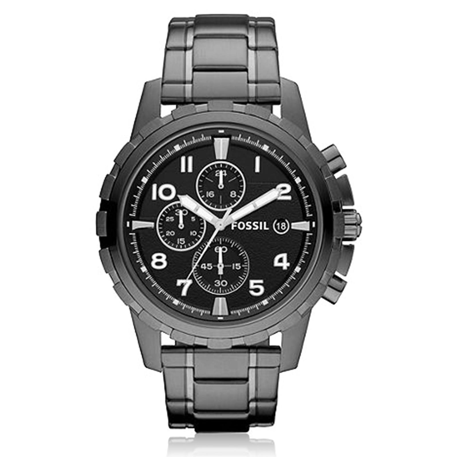 นาฬิกา Fossil รุ่น FS4721 นาฬิกาข้อมือผู้ชาย ของแท้ รับประกันศูนย์ 2 ปี ส่งพร้อมกล่อง และใบรับประกันศูนย์