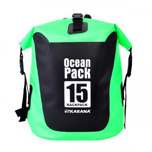 Back Pack 15L - สีเขียวมะนาว