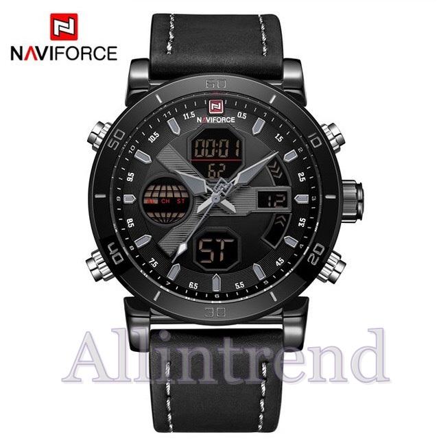 นาฬิกา Naviforce รุ่น NF9132M สีดำ ของแท้ รับประกันศูนย์ 1 ปี ส่งพร้อมกล่อง และใบรับประกันศูนย์ ราคาถูกที่สุด