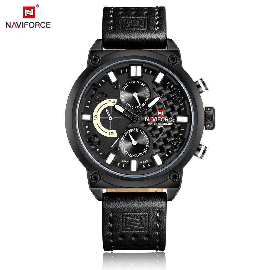 นาฬิกา Naviforce รุ่น NF9068M สีดำ ของแท้ รับประกันศูนย์ 1 ปี ส่งพร้อมกล่อง และใบรับประกันศูนย์ ราคาถูกที่สุด