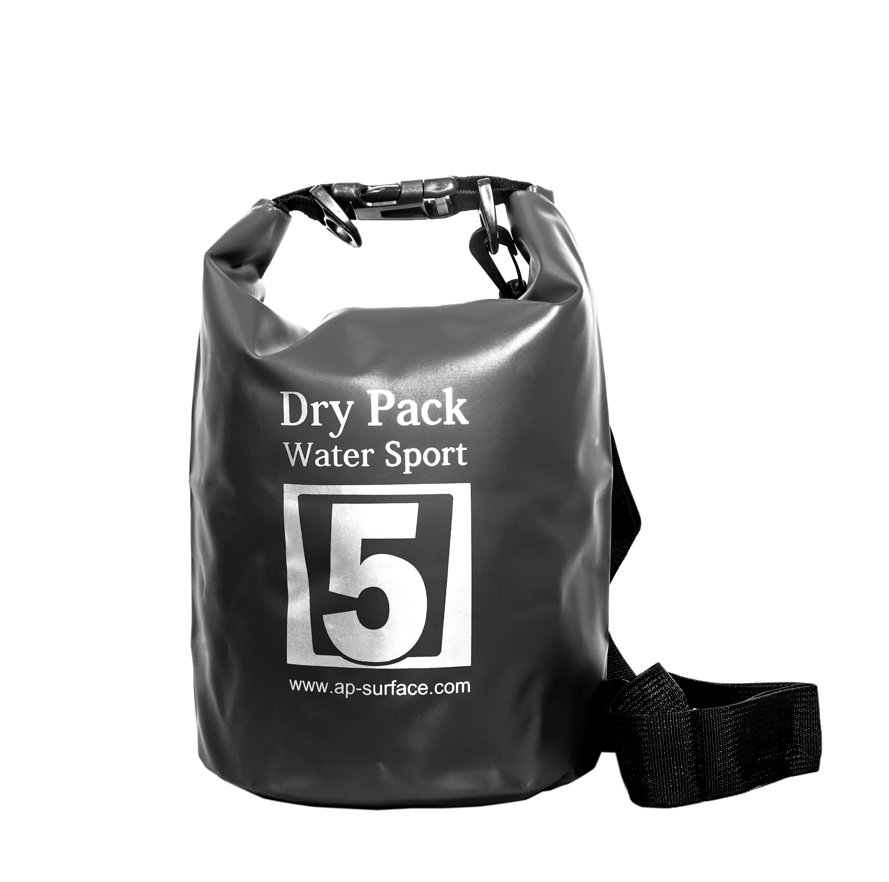 กระเป๋ากันน้ำ Dry pack 5L-สีดำ