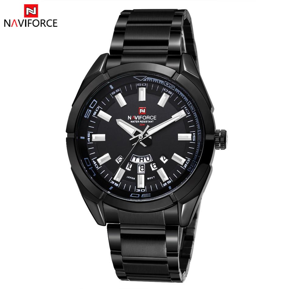 นาฬิกา Naviforce รุ่น NF9038M สีดำ ของแท้ รับประกันศูนย์ 1 ปี ส่งพร้อมกล่อง และใบรับประกันศูนย์ ราคาถูกที่สุด