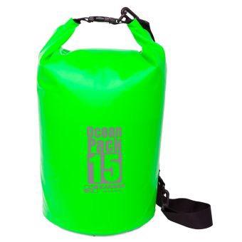 กระเป๋ากันน้ำ Ocean Pack 15L-สีเขียวตอง