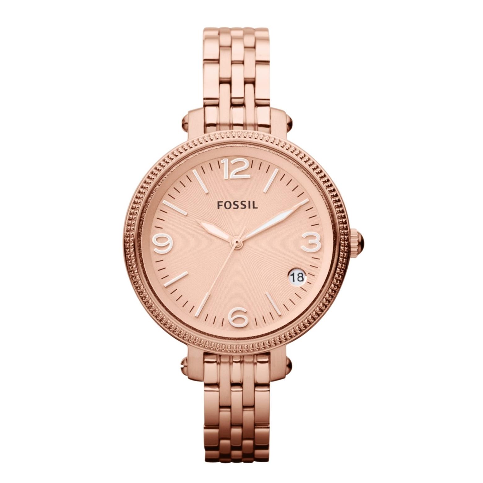 นาฬิกา Fossil รุ่น ES3182 นาฬิกาข้อมือผู้หญิง ของแท้ รับประกันศูนย์ 2 ปี ส่งพร้อมกล่อง และใบรับประกันศูนย์