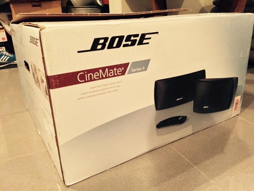 ลำโพงบ้าน BOSE Cinemate SeriesII ของใหม่ ราคา Clearance