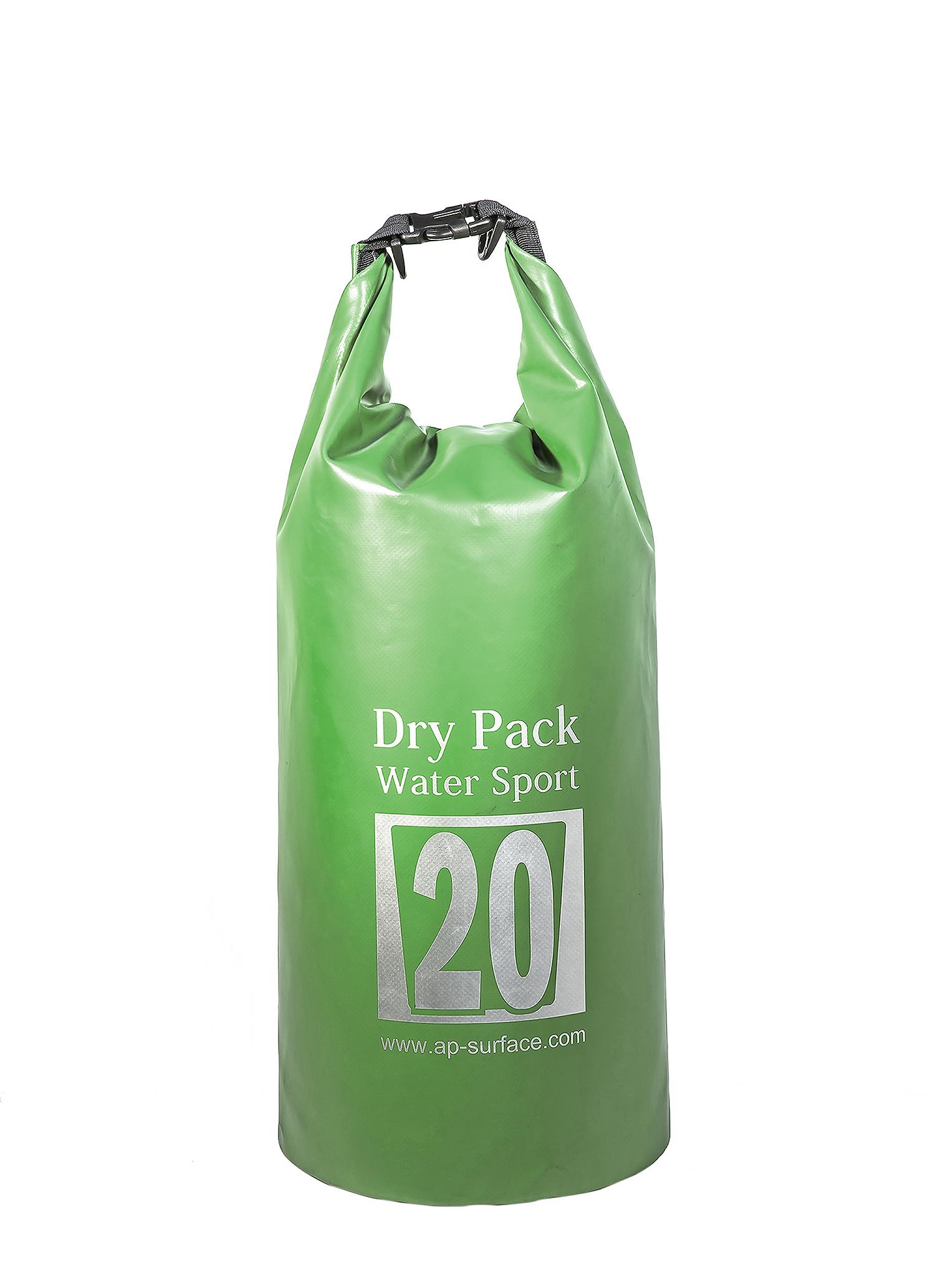 กระเป๋ากันน้ำ Dry pack 20L-สีเขียวทหาร