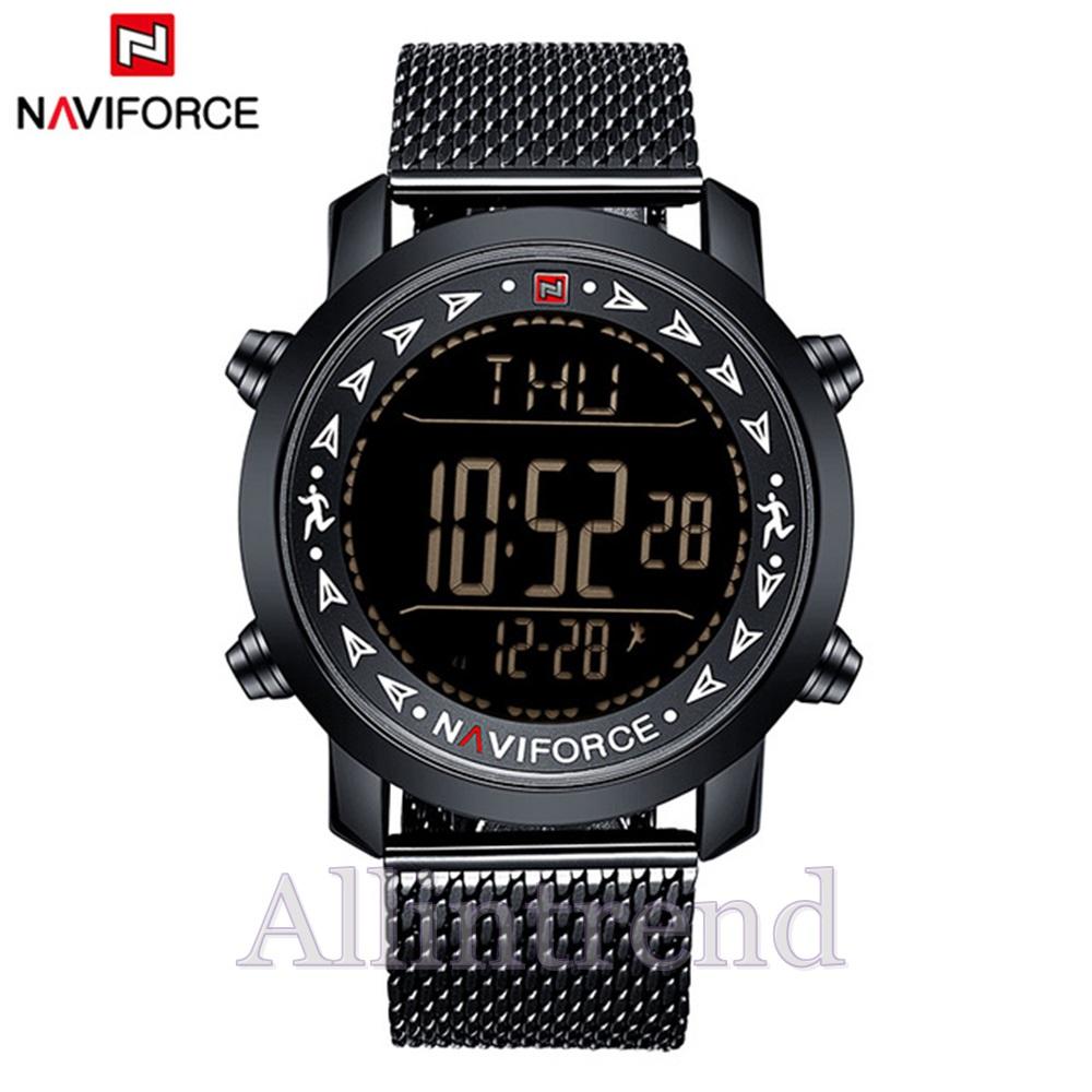 นาฬิกา Naviforce รุ่น NF9130M สีขาว/ดำ ของแท้ รับประกันศูนย์ 1 ปี ส่งพร้อมกล่อง และใบรับประกันศูนย์ ราคาถูกที่สุด