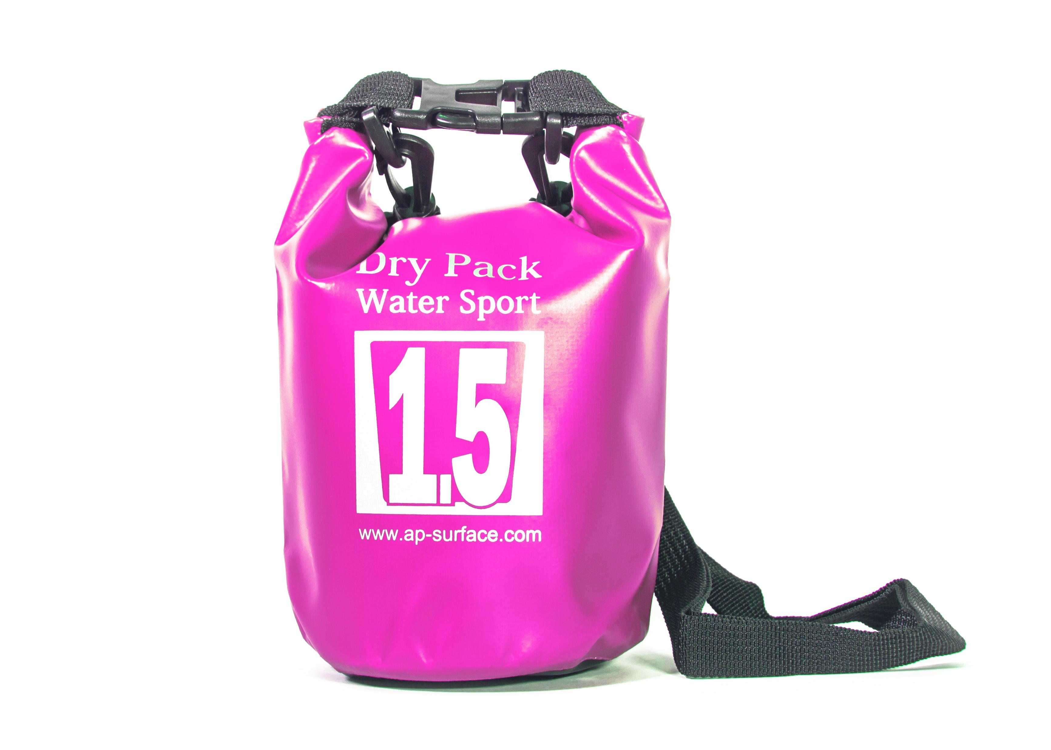 กระเป๋ากันน้ำ Dry Pack 1.5L - สีชมพู