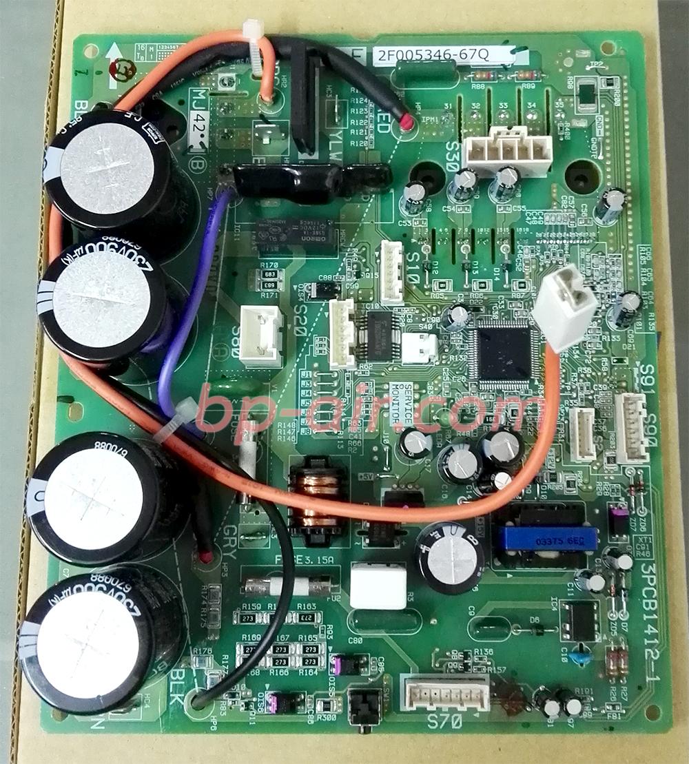 แผงบอร์ดอินเวอร์เตอร์ ตัวนอก DAIKIN FTKD09FV2S
