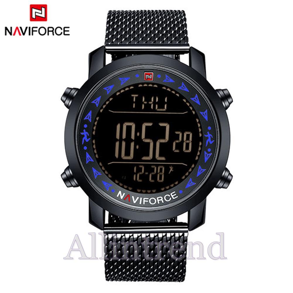 นาฬิกา Naviforce รุ่น NF9130M สีน้ำเงิน/ดำ ของแท้ รับประกันศูนย์ 1 ปี ส่งพร้อมกล่อง และใบรับประกันศูนย์ ราคาถูกที่สุด
