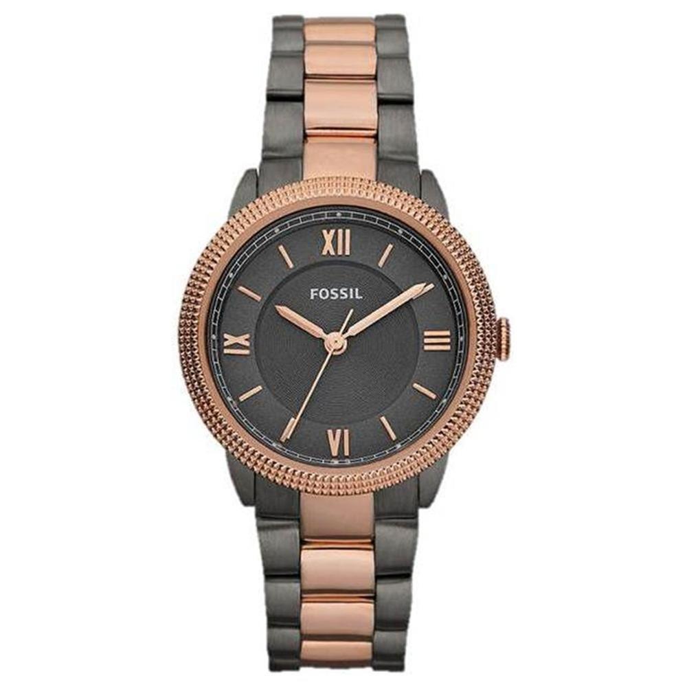 นาฬิกา Fossil รุ่น ES3075 นาฬิกาข้อมือผู้หญิง ของแท้ รับประกันศูนย์ 2 ปี ส่งพร้อมกล่อง และใบรับประกันศูนย์