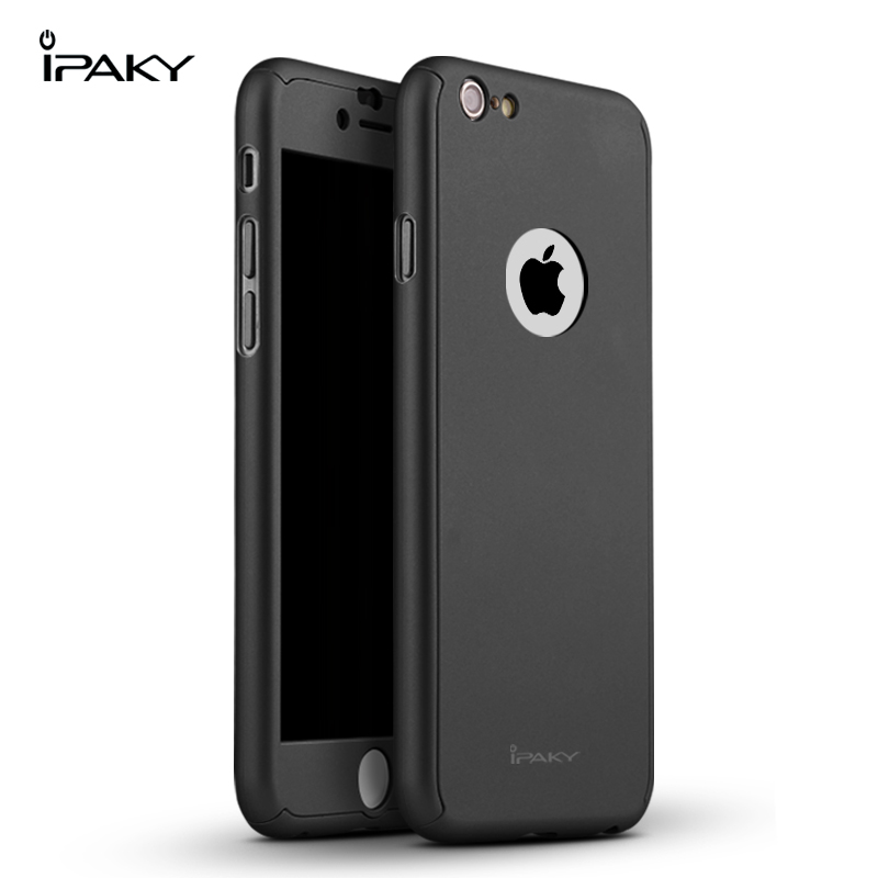 IPAKY Case 360 3 in 1 iPhone 6 6 S- Balck
