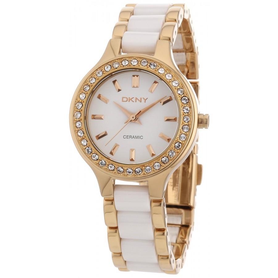 นาฬิกา DKNY รุ่น NY8141 นาฬิกาข้อมือผู้หญิง ของแท้ รับประกันศูนย์ 2 ปี ส่งพร้อมกล่อง และใบรับประกันศูนย์