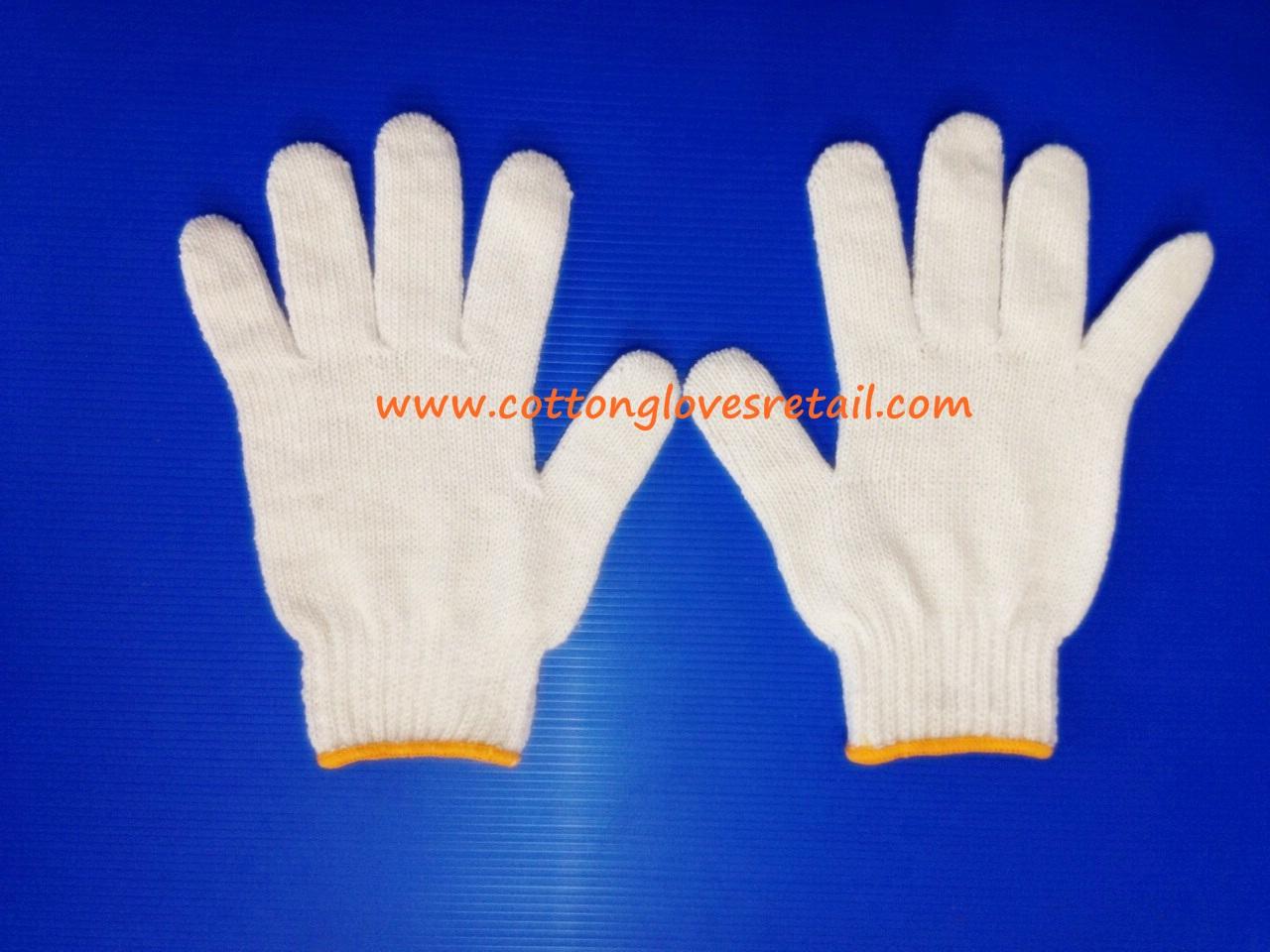 ถุงมือผ้าฝ้ายขนาด 700 กรัม จำนวน 20 โหล