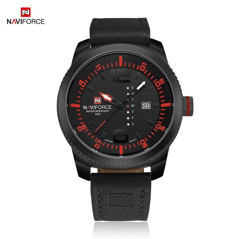 นาฬิกา Naviforce รุ่น NF9063M สีแดง/ดำ ของแท้ รับประกันศูนย์ 1 ปี ส่งพร้อมกล่อง และใบรับประกันศูนย์ ราคาถูกที่สุด