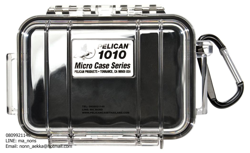 PELICAN™ 1010 MICROCASE, BLACK/CLEAR