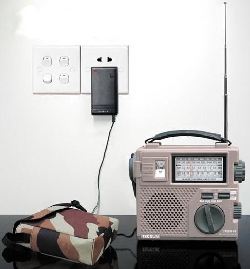 วิทยุ TECSUN รุ่น GR-88 FM AM SW1 SW