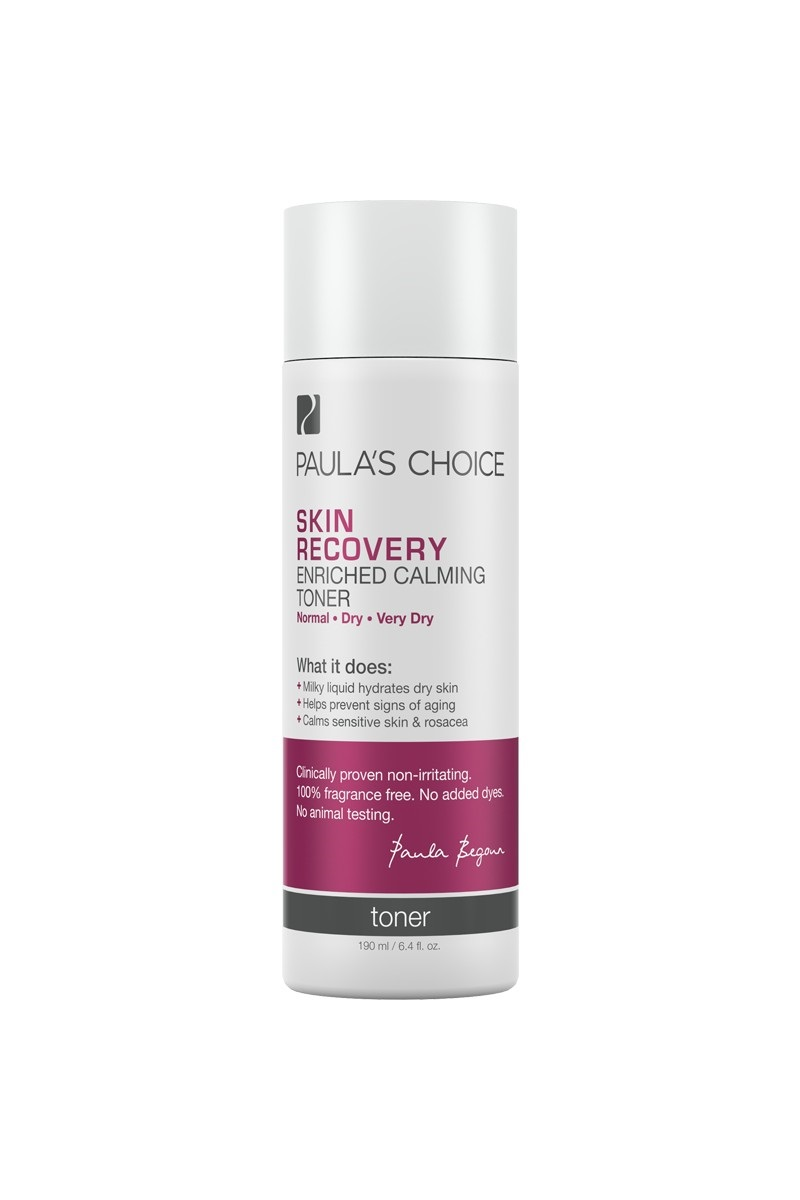 Skin Recovery Enriched Calming Toner.