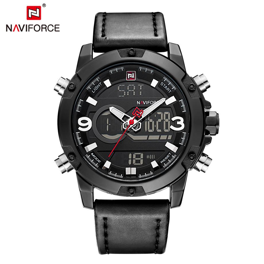 นาฬิกา Naviforce รุ่น NF9097M ดำ ของแท้ รับประกันศูนย์ 1 ปี ส่งพร้อมกล่อง และใบรับประกันศูนย์ ราคาถูกที่สุด
