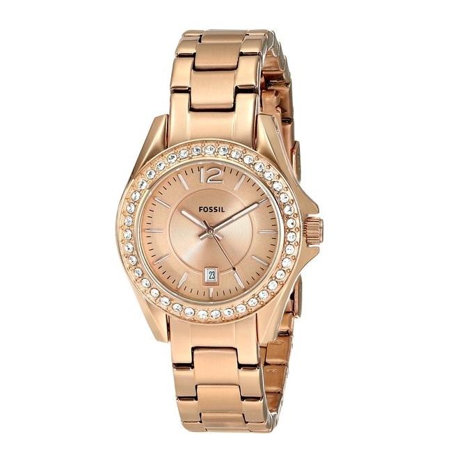 นาฬิกา Fossil รุ่น ES2889 นาฬิกาข้อมือผู้หญิง ของแท้ รับประกันศูนย์ 2 ปี ส่งพร้อมกล่อง และใบรับประกันศูนย์