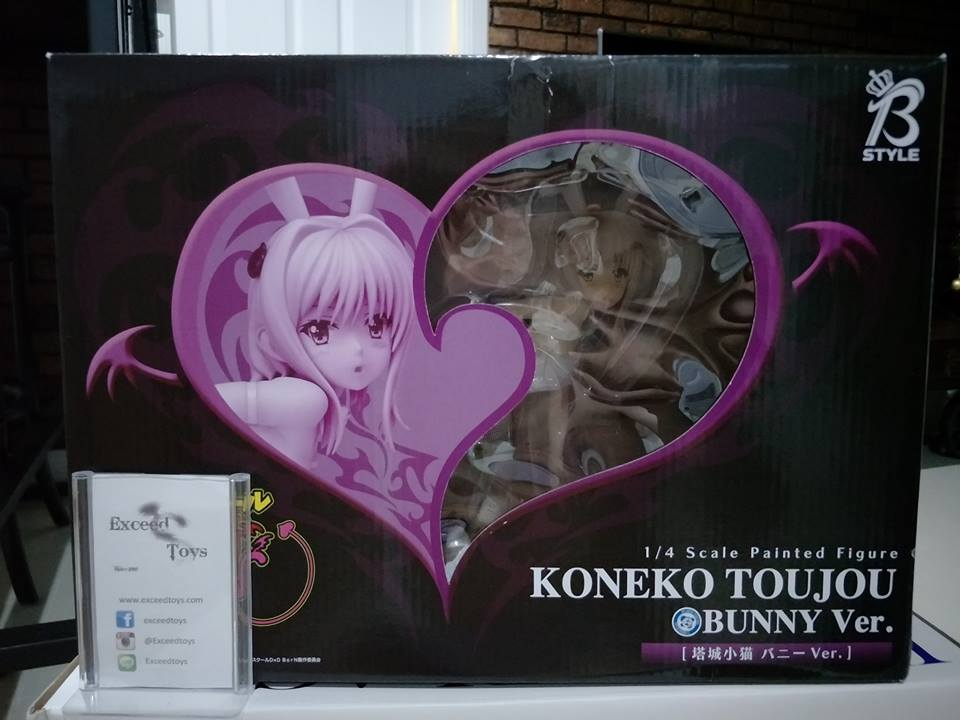 Toujou Koneko - 1/4 - Bunny ver. (FREEing)