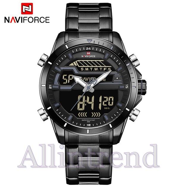 นาฬิกา Naviforce รุ่น NF9133M สีดำ ของแท้ รับประกันศูนย์ 1 ปี ส่งพร้อมกล่อง และใบรับประกันศูนย์ ราคาถูกที่สุด