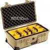 PELICAN™ 1510 with Padded Divider, DESERT TAN (ช่องเเท้จากโรงงาน USA)