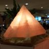 โคมไฟทรงปิรามิดคัทเวิร์ค Pyramid Cutwork