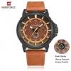 นาฬิกา Naviforce รุ่น NF9083M BN BN นาฬิกาข้อมือสุภาพบุรุษ สีน้ำตาล ของแท้ รับประกันศูนย์ 5 ปี ส่งพร้อมกล่อง และใบรับประกันศูนย์ ราคาถูกที่สุด