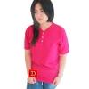 เสื้อยืดคอจีน Cotton100% XL สีบานเย็น