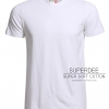 Premium Cotton White สีขาว