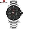 นาฬิกา Naviforce รุ่น NF9078M สีเทา/เงิน ของแท้ รับประกันศูนย์ 1 ปี ส่งพร้อมกล่อง และใบรับประกันศูนย์ ราคาถูกที่สุด