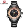 นาฬิกา Naviforce รุ่น NF9093M RG BK นาฬิกาข้อมือสุภาพบุรุษ ของแท้ รับประกันศูนย์ 1 ปี ส่งพร้อมกล่อง และใบรับประกันศูนย์ ราคาถูกที่สุด