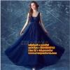 ชุดแต่งงาน [ ชุดพรีเวดดิ้ง ] PD-026 กระโปรงยาว สีน้ำเงิน (Pre-Order)