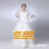 ชุดแต่งงานคนอ้วน แขนยาว-กระโปรงสุ่ม WL-2017-006 Pre-Order (เกรด Premium)